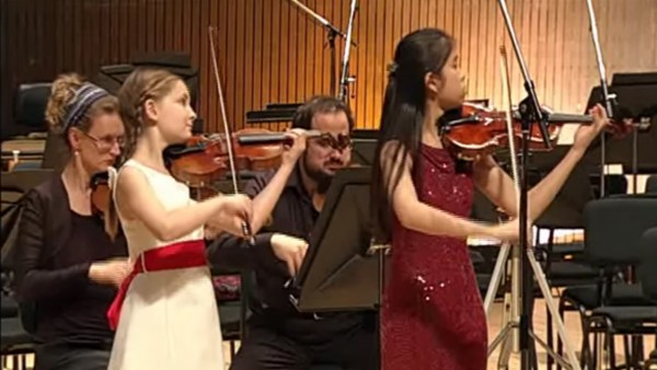 Bach Concerto for 2 Violins - BWV 1043 (on Intermezzo with Arik)