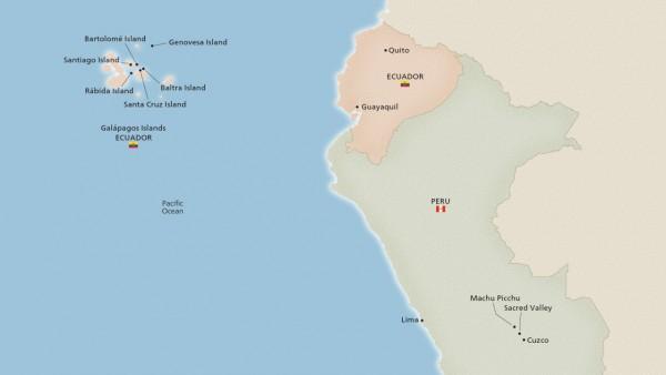 Wild Galápagos, Machu Picchu & Peru (Expedition)