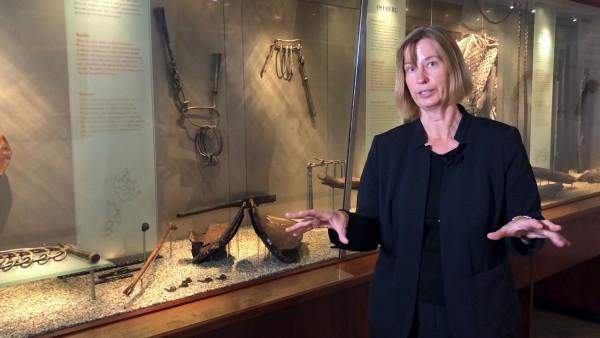 Viking Ship Museum: Viking Wood Carvings and Tapestries