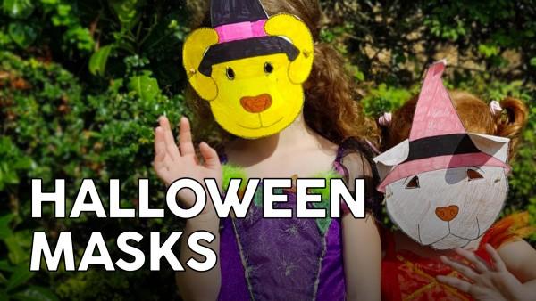 Paper Halloween Masks