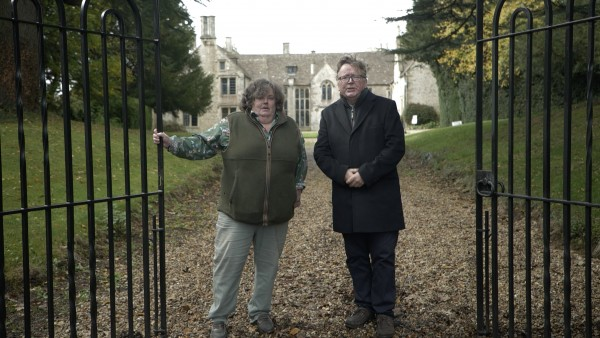 At Home with the ghosts of Highclere Castle and Chavenage House