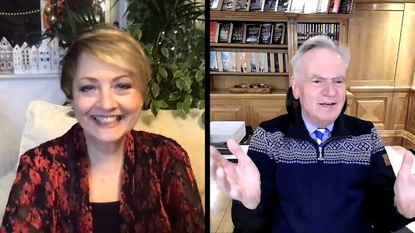 Anne Diamond interviews best-selling author Jeffrey Archer