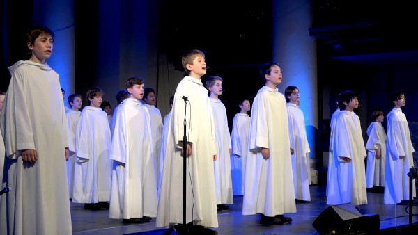 A Libera Boys' Choir Performance at St. John's Smith Square in London