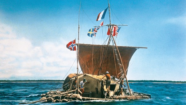 At the Kon-Tiki Museum with Curator Reidar Solsvik