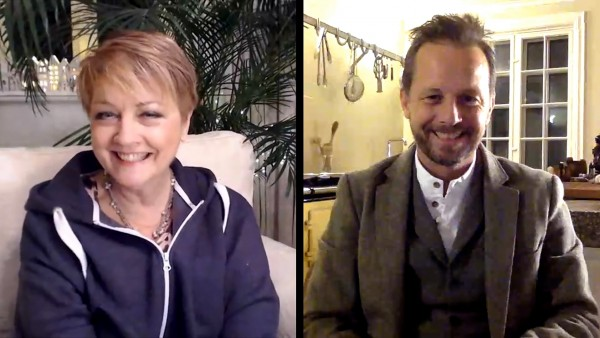 Anne Diamond interviews Norwegian food columnist and TV Chef Andreas Viestad