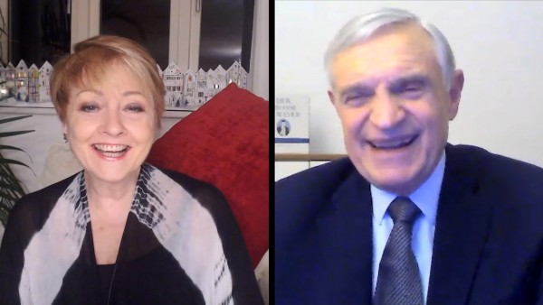 Anne Diamond interviews Professor Thomas Schäfer-Elmayer