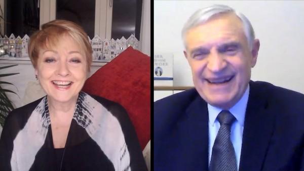 Anne Diamond interviews Professor Thomas Schäfer-Elmayer