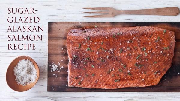Brown Sugar-Glazed Alaskan Salmon