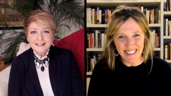 Anne Diamond interviews author Sophy Roberts