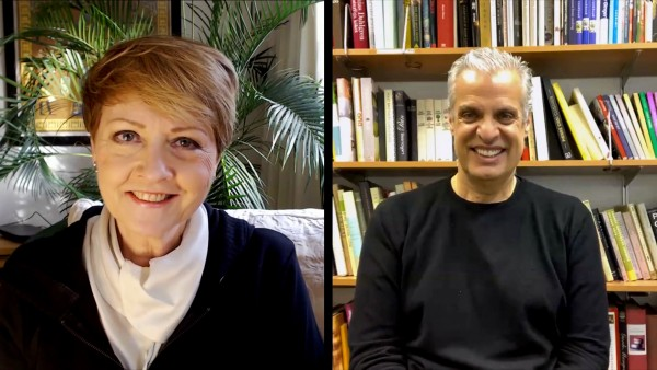 Anne Diamond interviews celebrity French chef Eric Ripert