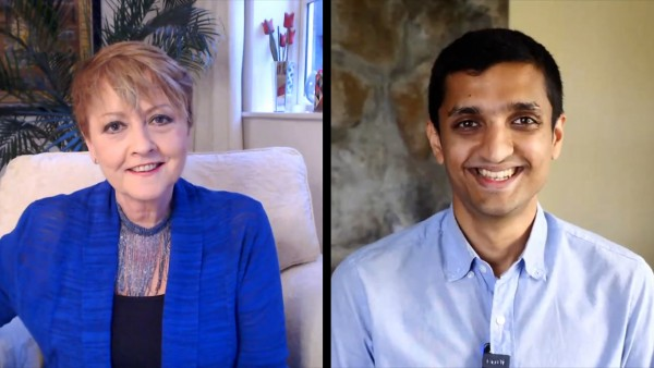 Anne Diamond interviews Google AI's Sagar Savla