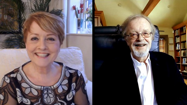 Anne Diamond interviews author Bernard Cornwell, OBE