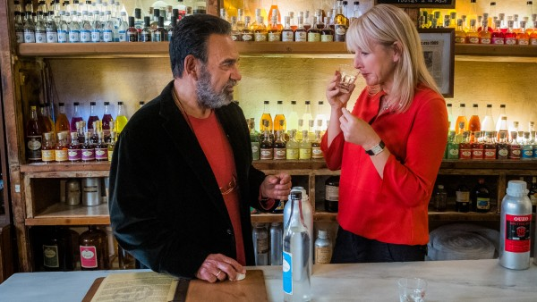 Karine explores wines and spirits