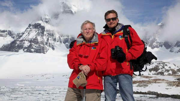 Anne Diamond interviews oceanographer Don Walsh and his son Kelly Walsh
