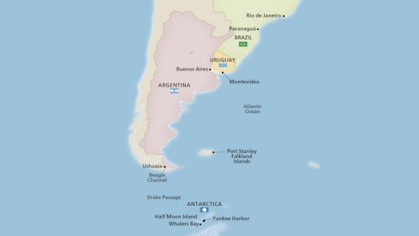 South America & Antarctic Discovery (Expedition)