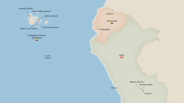 West Galápagos, Machu Picchu & Peru (Expedition)