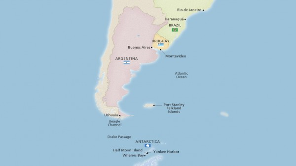 Antarctic & South America Discovery (Expedition)