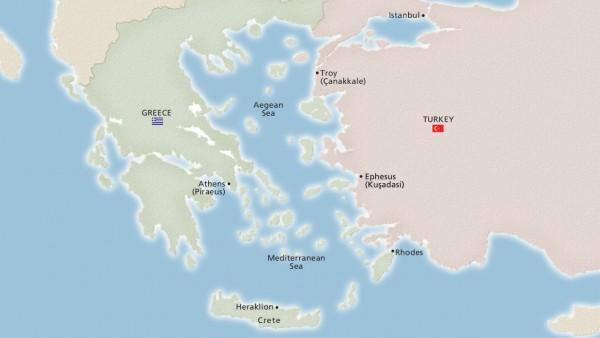 Ancient Mediterranean Treasures (Ocean)