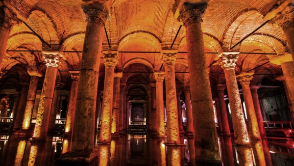 Istanbul's Mysterious Basilica Cistern