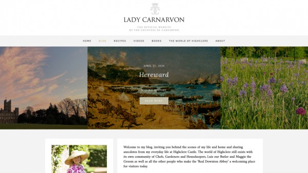 Lady Carnarvon's Blog