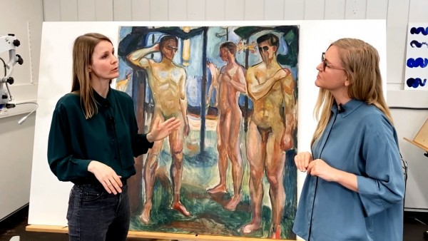 Paintings Conservator, Mie Mustad