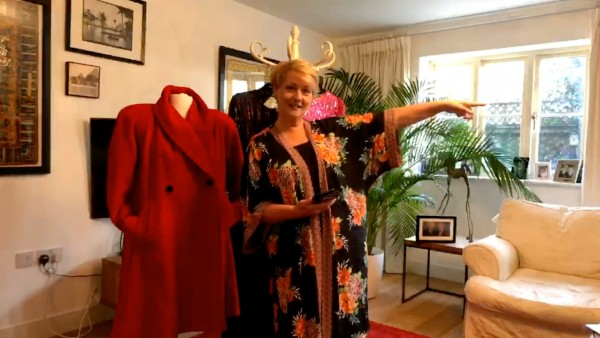 Anne Diamond at Home