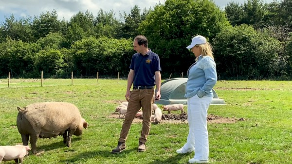 At home at Highclere Castle: Meet the Piglets