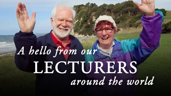 A Hello From Our Lectures Around The World