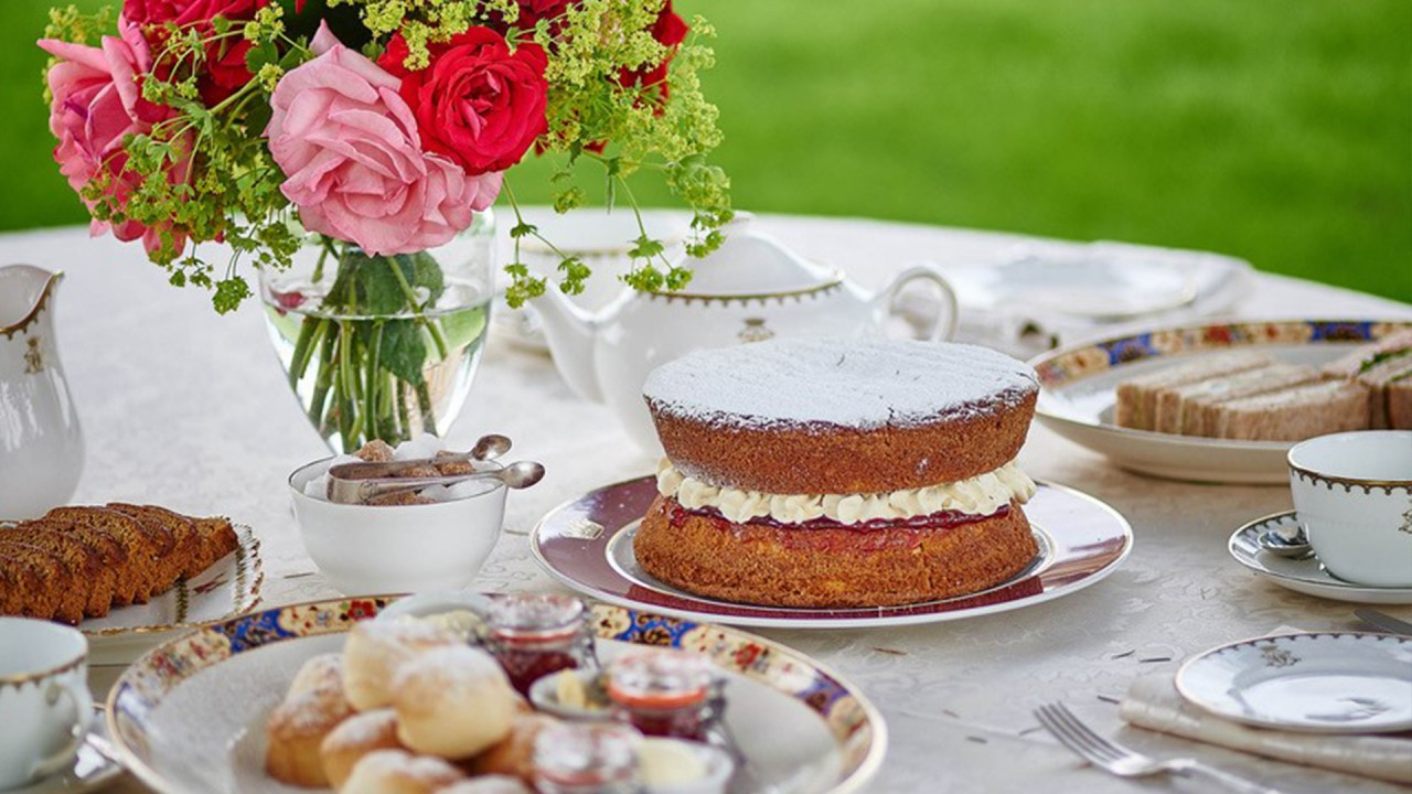 At Home at Highclere Castle: Afternoon Tea